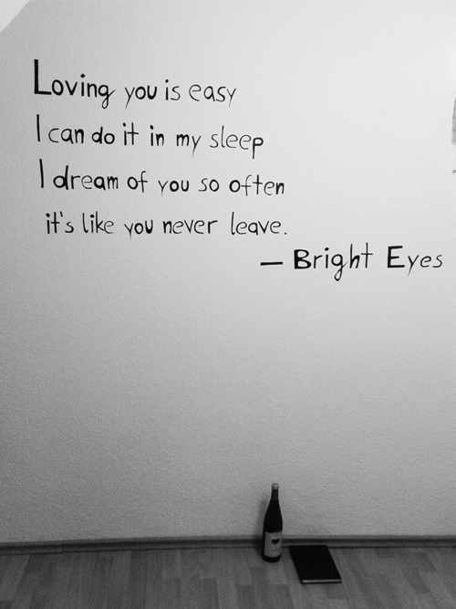 Bright Eyes lyrics
