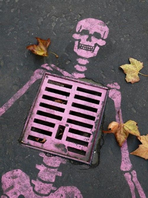 Great Pink Grate Skeleton