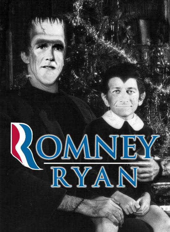 Politics Are Funny (Romney/Ryan as the Munsters)