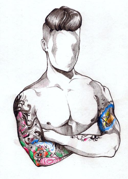 Sexy Man Tattoos