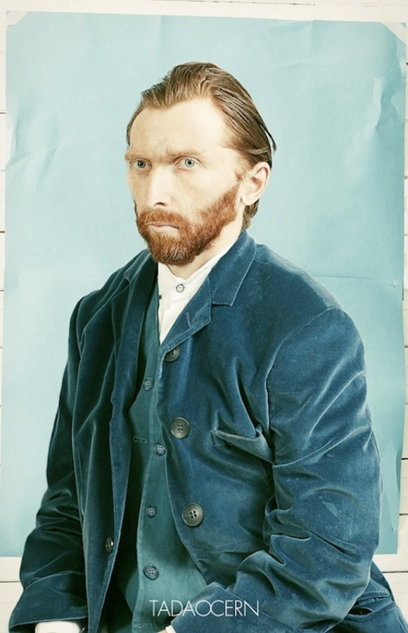 Van Gogh Self-Portrait As a Photo