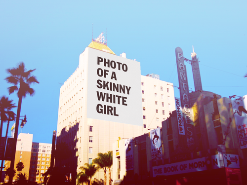 Skinny White Girl