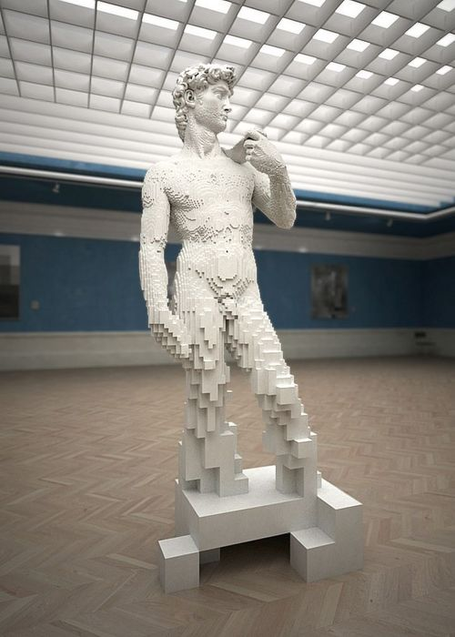 Michelangelo's David, Digitalized