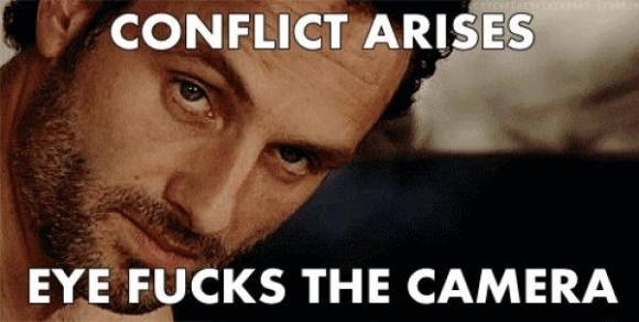Rick Grimes, Eye-Fucker