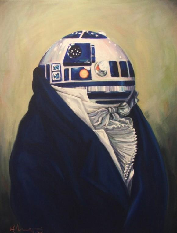 R2D2 - A Dignified Gentleman