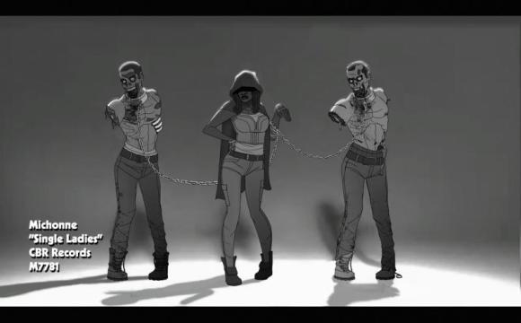 Michonne Channeling Beyonce