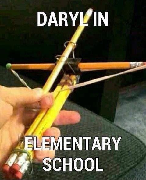 Daryl Dixon, Age 6