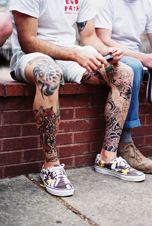 Tatted Legs